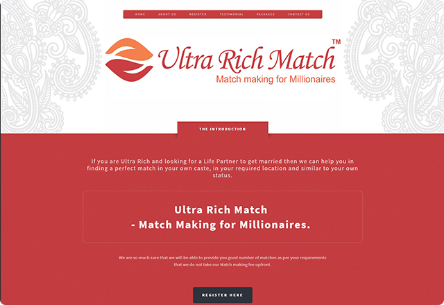 Ultra Rich Match